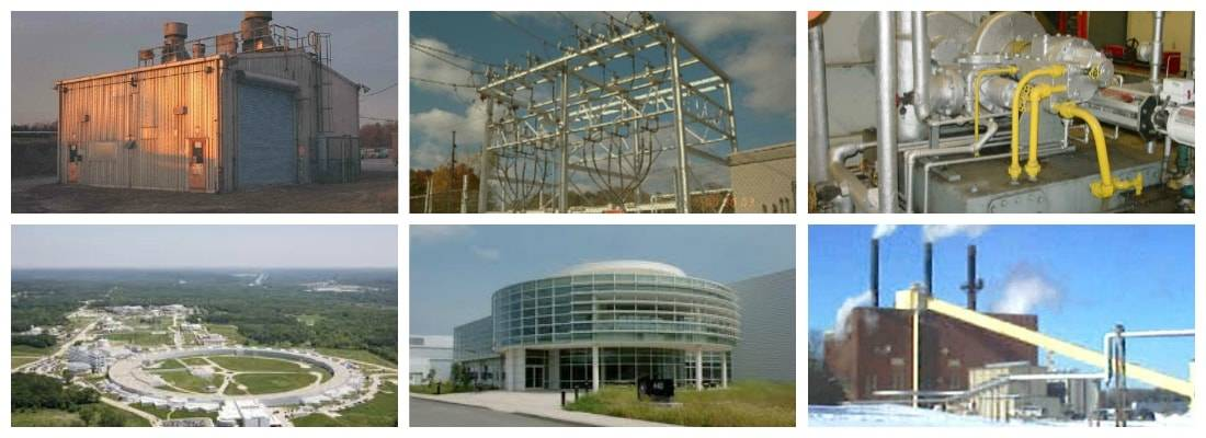 Picture collage of Argonne National Lab