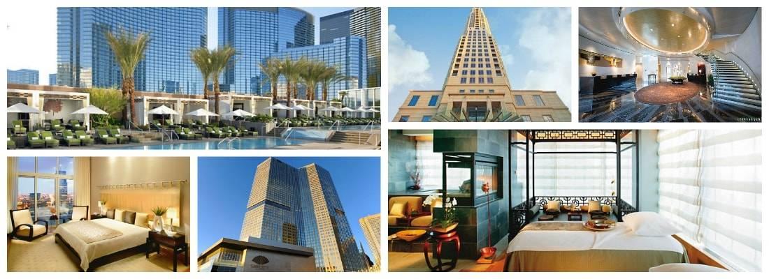 Mandarin Oriental Hotel Collage
