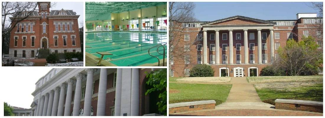 Picture collage of Vanderbilt University