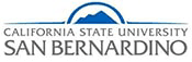 The logo for California State University San Bernardino